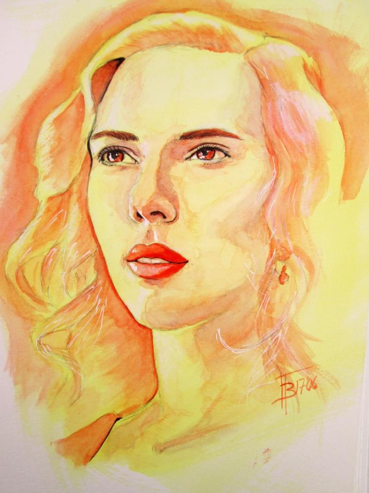 Scarlett Johansson par 13thmonkey